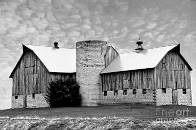 Photograph - Magnificent Barn In The Sky by Kathy M Krause