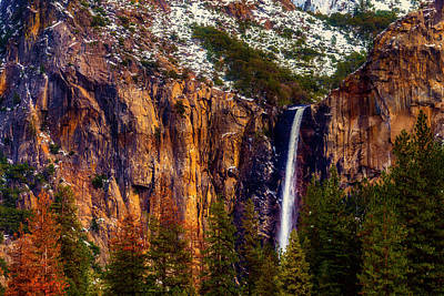 Photograph - Magnificent Bridaveil Falls by Garry Gay