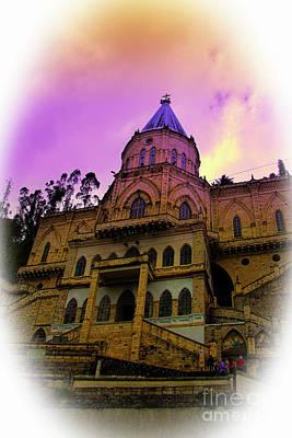 Print featuring the photograph Magnificent Church Of Biblian II by Al Bourassa