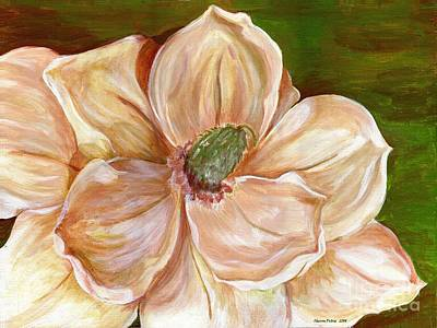 Painting - Magnificent Magnolia - 2 by Sheron Petrie