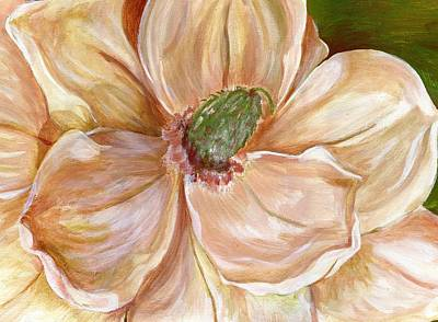 Painting - Magnificent Magnolia -1 by Sheron Petrie