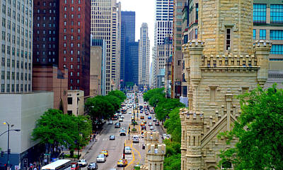 Photograph - Magnificent Mile by Charles Bacon Jr