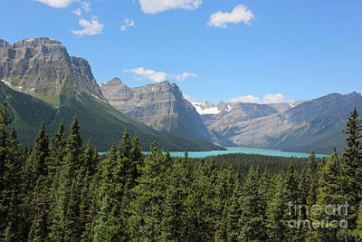 Photograph - Magnificent Mountains With Lake by Carol Groenen