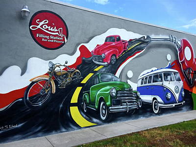 Photograph - Magnificent Mural by Denise Mazzocco