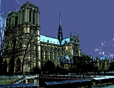 Hunchback Photograph - Magnificent Notre Dame by Al Bourassa