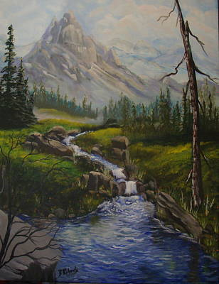 Magnificent Rockies Original by Bobbie Roberts