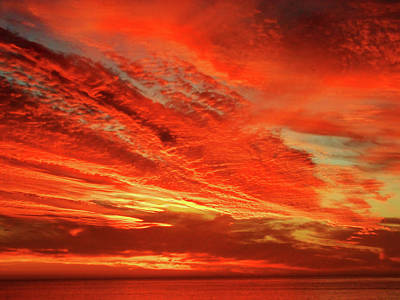 Magnificent Sunset Art Print