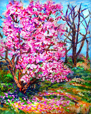 Magnolia - Early Spring Art Print by Laura Heggestad