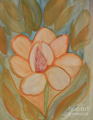 Painting - Magnolia Abstract by Maria Urso