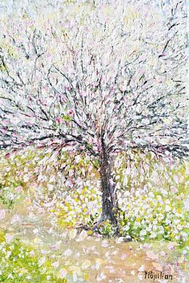Painting - Magnolia Blossom by Evelina Popilian