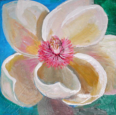 Painting - Magnolia Burst by Anne Cameron Cutri