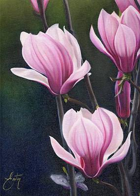 Magnolia Celebration IIi Print by Daniela Easter