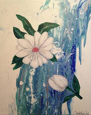 Painting - Magnolia by Christal Kaple Art