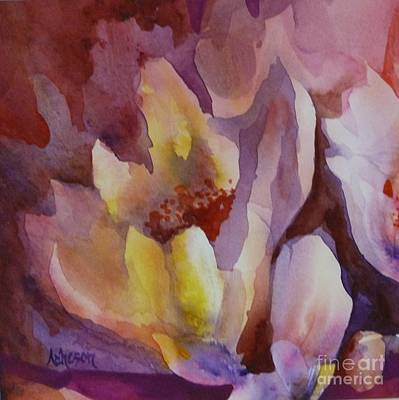 Painting - Magnolia by Donna Acheson-Juillet