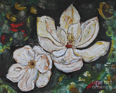 Painting - Magnolia  by Ella Kaye Dickey