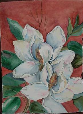 Magnolia Five Art Print
