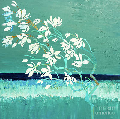 Painting - Magnolia by Gallery Messina