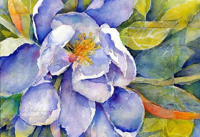 Magnolia In Shadow Art Print