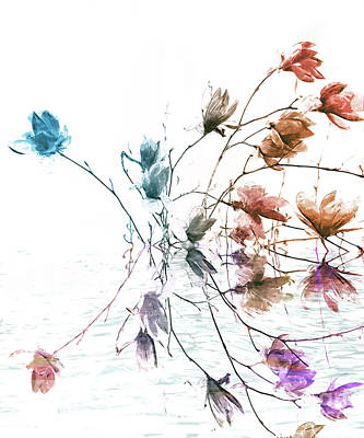 Painting - Magnolia by Jacky Gerritsen
