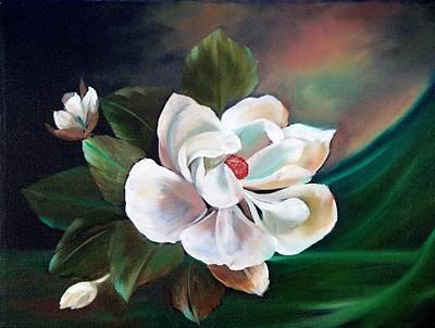 Painting - Magnolia by Joni McPherson