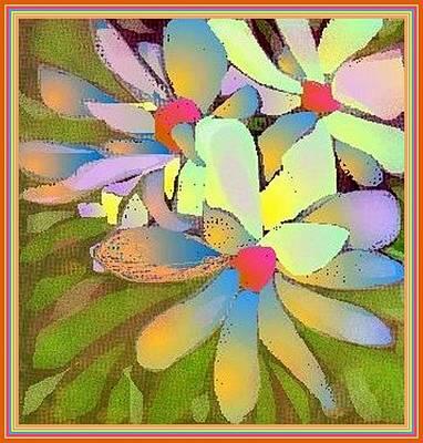 Magnolia Flower Drawing - Magnolia by Julia Woodman