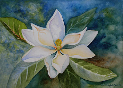 Painting - Magnolia by Kerri Ligatich