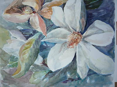 Magnolia Magic Art Print by Dorothy Herron