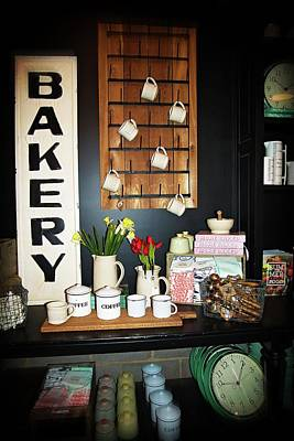 Photograph - Magnolia Market Bakery Display by Lynn Bauer