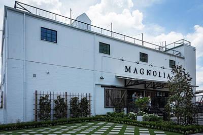 Photograph - Magnolia Market by Debra Martz