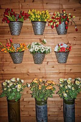 Photograph - Magnolia Market Flower Display by Lynn Bauer