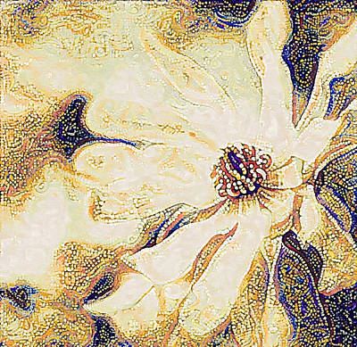 Photograph - Magnolia Mosaic by Susan Maxwell Schmidt