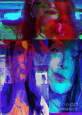 Loneliness Mixed Media - Magnolia by Noredin Morgan