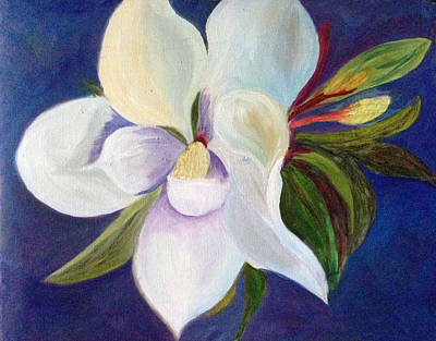 Painting - Magnolia Painting by Pat Exum