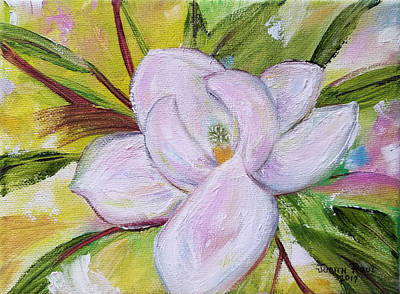 Painting - Magnolia Refrain by Judith Rhue