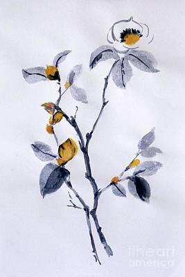 Magnolia Art Print by Sibby S