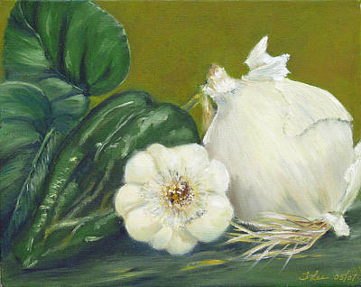 Painting - Magnolia Spice by Tracie L Hawkins