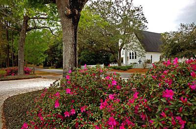 Painting - Magnolia Springs Alabama Church by Michael Thomas