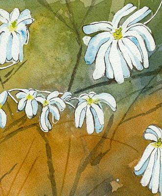 Magnolias 1 Of 3 Art Print