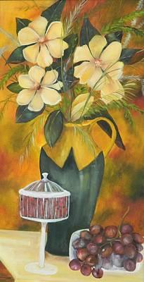 Magnolias For Madi Original by Deb Hassinger