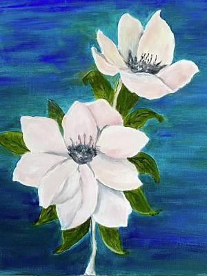 Painting - Magnolias by Heidi Patricio-Nadon