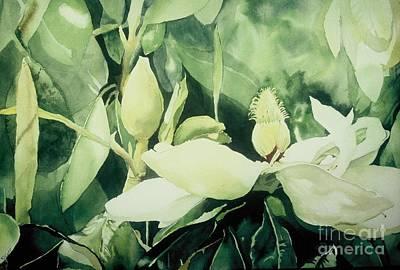 Magnolium Opus Art Print by Elizabeth Carr