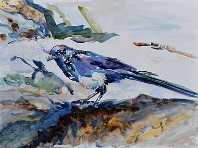 Painting - Magpie On The Coast by Beverley Harper Tinsley