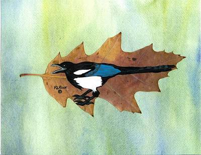 Painting - Magpie by Ralph Root