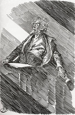 Great Expectations Drawing - Magwitch Under Sentence Of Death. A by Vintage Design Pics