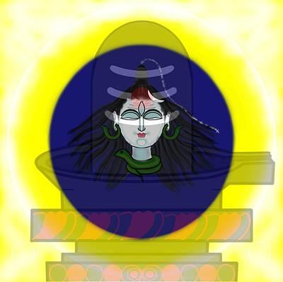 Painting - Mahadeva by Pratyasha Nithin