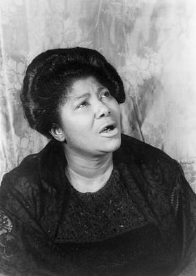 Photograph - Mahalia Jackson (1911-1972) by Granger