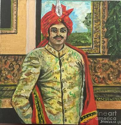 Painting - Maharaja by Gita Vasa