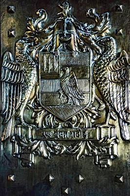 Family Crest Photograph - Maharaja Of Jodhpur Family Crest by Steve Harrington