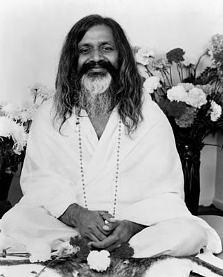 Photograph - Maharishi Mahesh Yogi, Founder by Everett