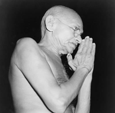 Mahatma Gandhi 1869-1948 In 1946 Art Print by Everett